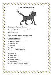 esl worksheets for beginners reading comprehension for beginners