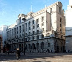 the ned hotel built inside former midland bank in london to