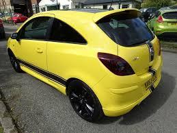 vauxhall yellow 2013 vauxhall corsa limited edition 4 995