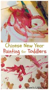 chinese new year painting for toddlers clare u0027s little tots