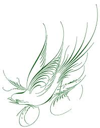 here s a tribal dove design back in the day this was called a