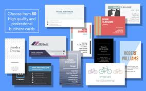business card maker for pages 1 0 u2013 professional business cards