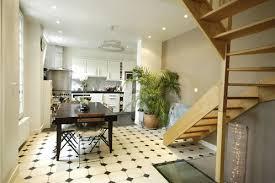 cuisine sol blanc awesome cuisine carrelage noir et blanc gallery lalawgroup us