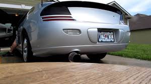 2001 dodge stratus r t exhaust rev youtube