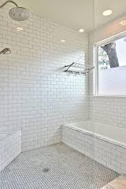 mosaic bathroom floor tile ideas bathroom ideas grey subway tile bathroom with small window and