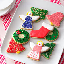 decorated sugar cookie cutouts recipe taste of home