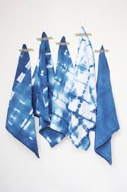 and loisdiy shibori indigo cloth napkins and lois