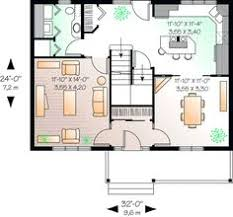 small floor plans cottages style house plans 1516 square foot home 1 story 3 bedroom