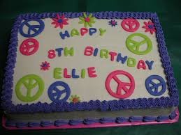 peace cake peace sign birthday peace cake and birthday cakes