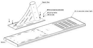 Solar Street Light Wiring Diagram - solar street lighting all in one integrated 8800lm