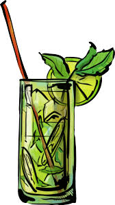 mixed drink clipart clipart mojito cocktail