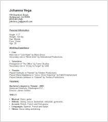 Soccer Resume Example by Media U0026 Arts Resume Examples