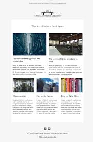 5 free and professional newsletter templates for architectural