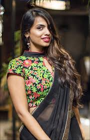 blouse for high neck blouse designs trending 21 high neck designs in 2017