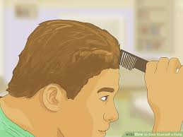 how to do a fade haircut on yourself how to give yourself a fade 15 steps with pictures wikihow