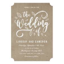 Wedding Invitations Rustic Rustic Wedding Invitations U0026 Announcements Zazzle Com Au