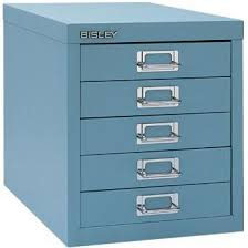 Bisley Filing Cabinet Bisley 5 Multidrawer Filing Cabinet H125nl Blue Co Uk