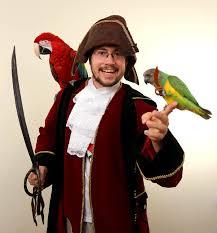 Parakeet Halloween Costume Trained Parrot Blog Parrot Pirate Halloween