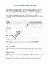 resume writing objectives objective for resume examples