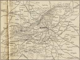 Map Of La Area Spanish Civil War Maps Modern Records Centre University Of Warwick