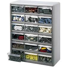 Artbin Store In Drawer Cabinet Stack On 18 Bin Plastic Drawer Cabinet Silver Gray Walmart Com