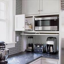 kitchen appliance storage ideas kitchen gets a fresh slant for an open cook space appliance