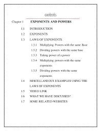 digital textbook exponents and powers
