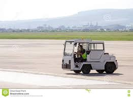 airport luggage towing vehicle editorial stock photo image 75267058
