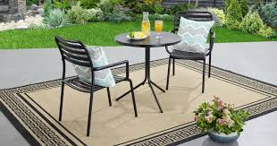 better homes and gardens coffee table wow better homes gardens 3 piece bistro set just 49 shipped