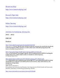 Homework Help   City of Chelsea MA