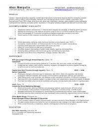 Project Manager Resume Tell The Company Or Organization Finance Manager Resume Objective Size Of Resumemanagerial