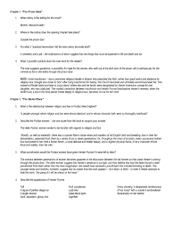 the scarlet letter questions and answers chapter 3 u2014 english