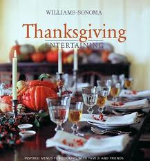 entertaining for the season and a williams sonoma book giveaway