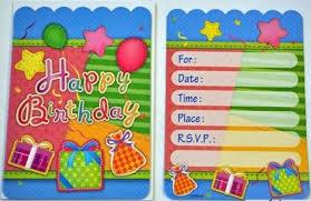 birthday card some beautiful happy birthday invitation cards