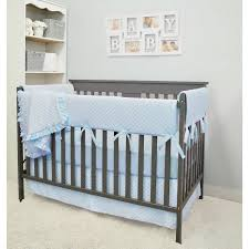 Minky Crib Bedding American Baby Company Heavenly Soft Minky Dot 6 Crib Bedding