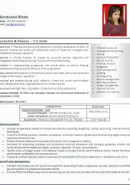 resume format for account managers salary cv good exles