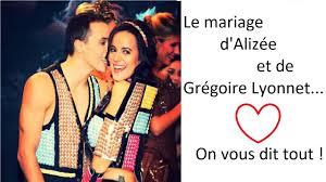 mariage alizee tous les détails sur le mariage d alizée et grégoire lyonnet