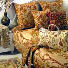 decorating luxury decorative pillows with kasmir fabrics and