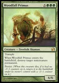 target black friday battlefield trample when woodfall primus enters the battlefield destroy