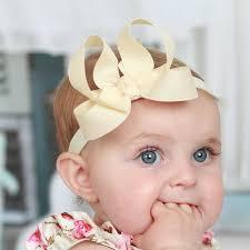 infant headbands ivory baby headbands ivory headbands for babies newborn