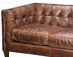 Leather Sofa Used Outstanding Traditional Brown Leather Sofa Lexterten Used Damage