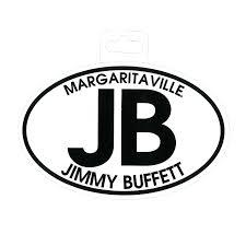 jimmy buffett euro sticker margaritaville apparel store