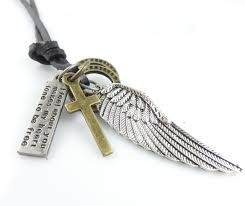 aliexpress buy new arrival cool charm vintage hot sell alloy leather vintage angel wing charm pendants cool