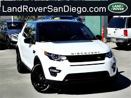 land rover discovery sport white 2016 land rover discovery sport san diego ca