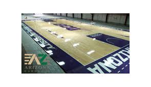 Dynamic Sports Flooring by Grand Canyon University Gcu Updates Their Basketball Court Artwork