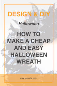 make a halloween wreath how to make a halloween wreath jest cafe