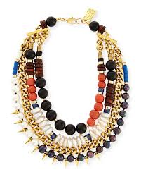 beaded statement necklace images Lizzie fortunato three bathers beaded statement necklace jpg