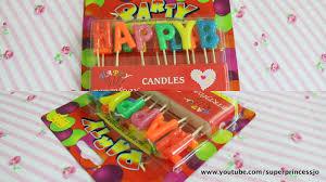 superprincessjo birthday candles room decor wall sticker baby