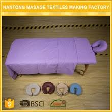 microfiber massage table sheets nantong bansen international trade co ltd cotton flannel poly
