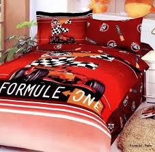 Cars Duvet Cover Race Car Bedding Formula One Bedding